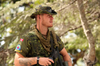 Canadian soldiers have a higher rate of addiction compared to the general population.