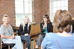 Female sessions at our rehab facility facilitate discussions on women's personal issues.